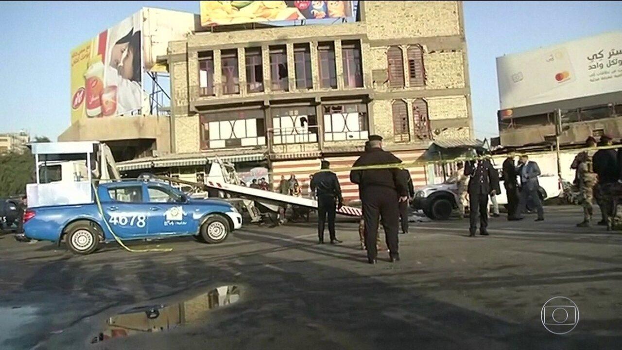 Atentado terrorista em Bagdá deixa 36 mortos e quase cem feridos