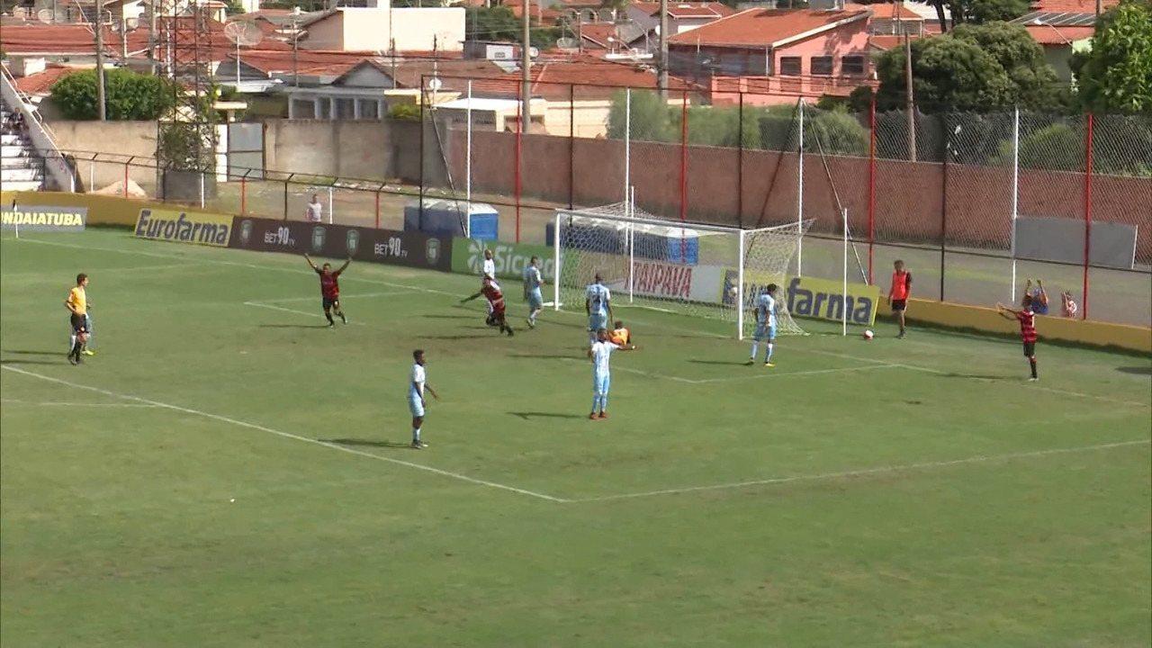 Vitória vence o Londrina e garante vaga nas oitavas de final da Copinha
