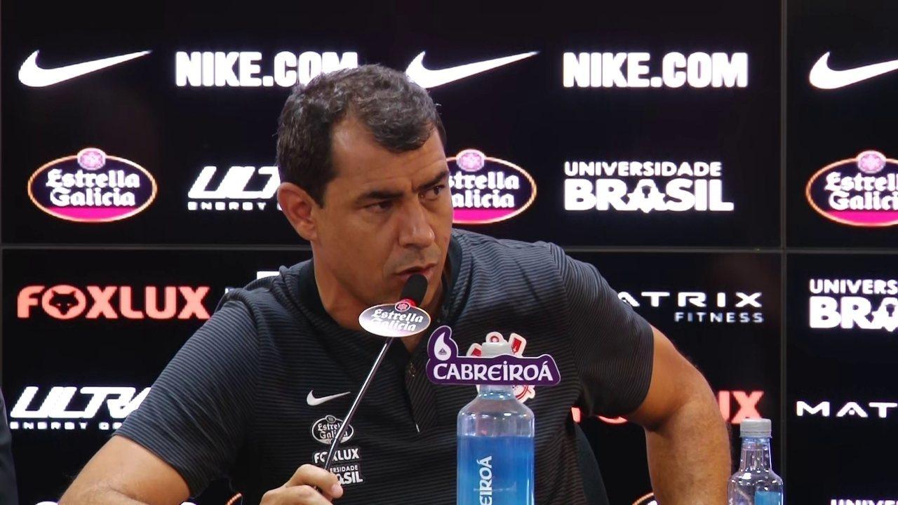 Carille diz que deu aval para contratação de Sheik no Corinthians