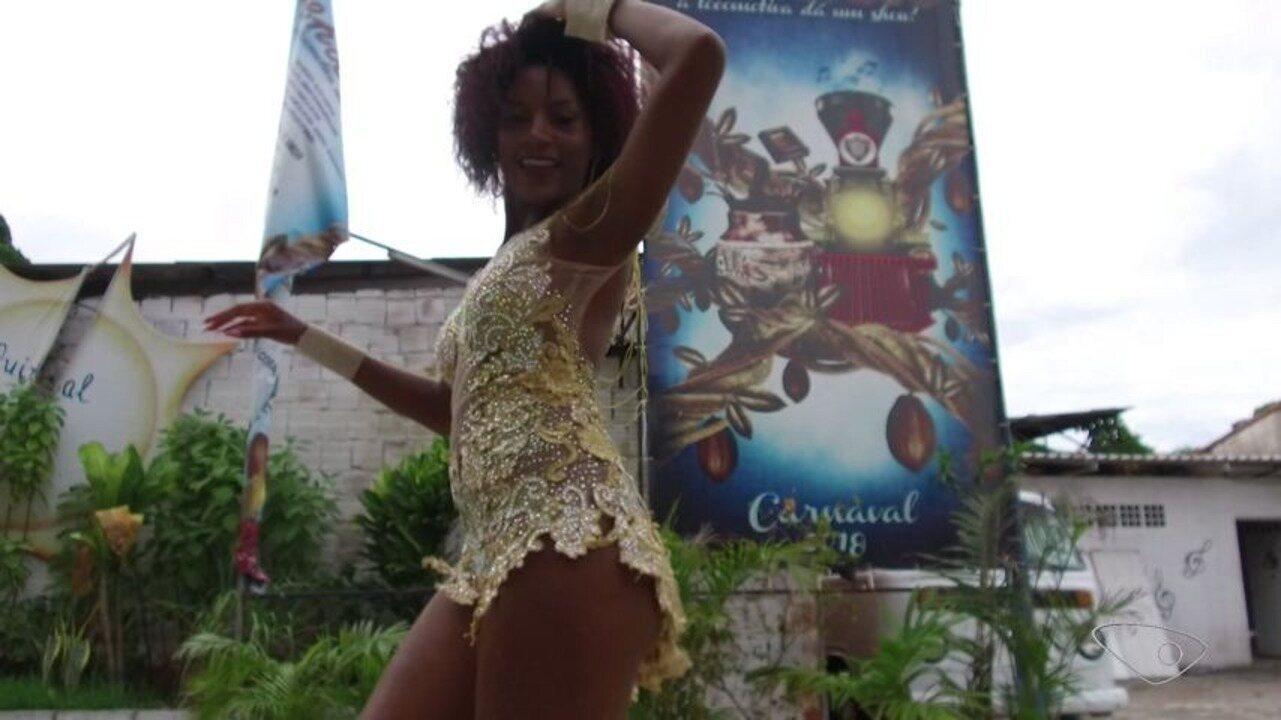 Garota do Samba 2018 da Pega no Samba nasceu na comunidade e faz Direto