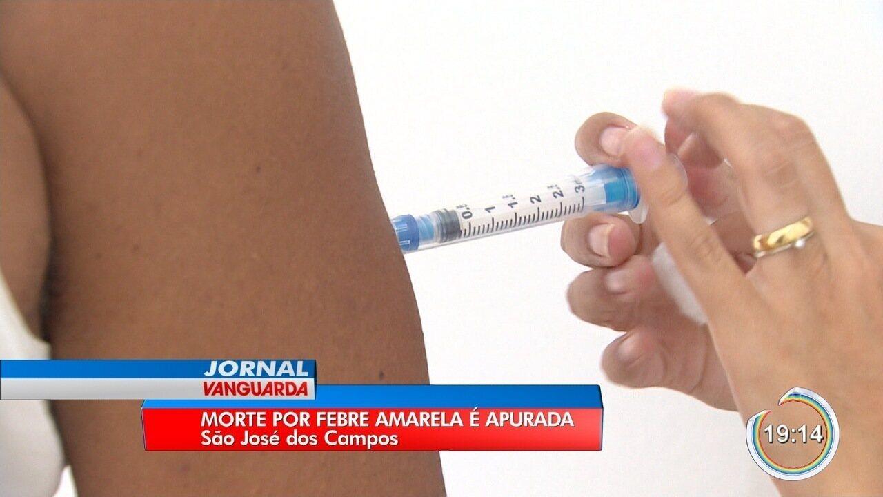 São José investiga morte por suspeita de febre amarela