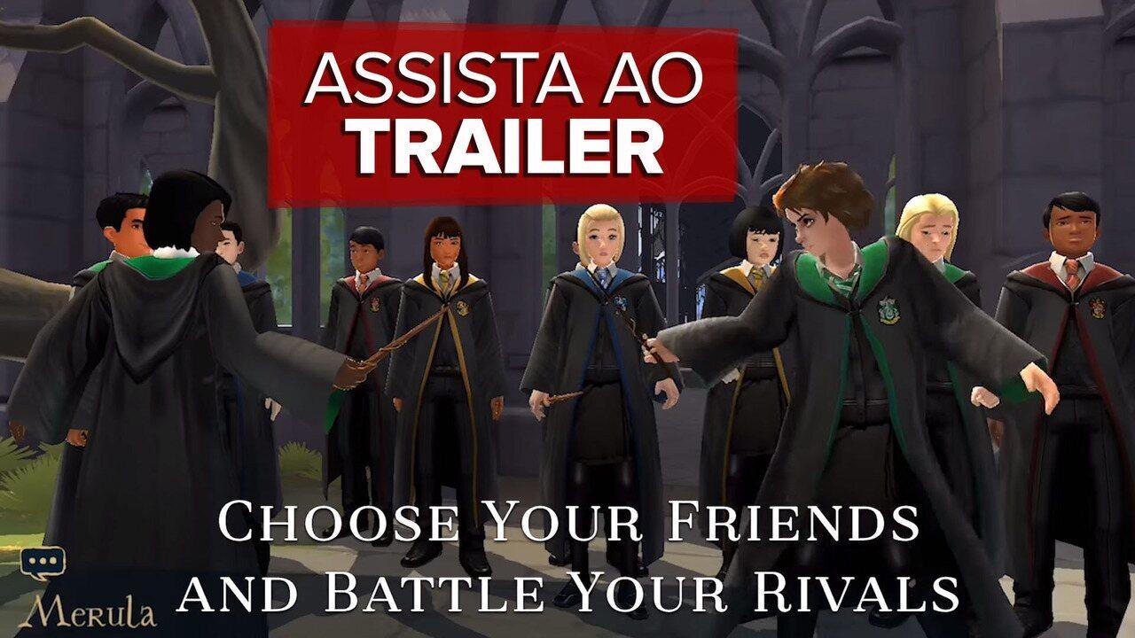 'Harry Potter: Mistérios de Hogwarts ganha trailer de anúncio do RPG para celulares