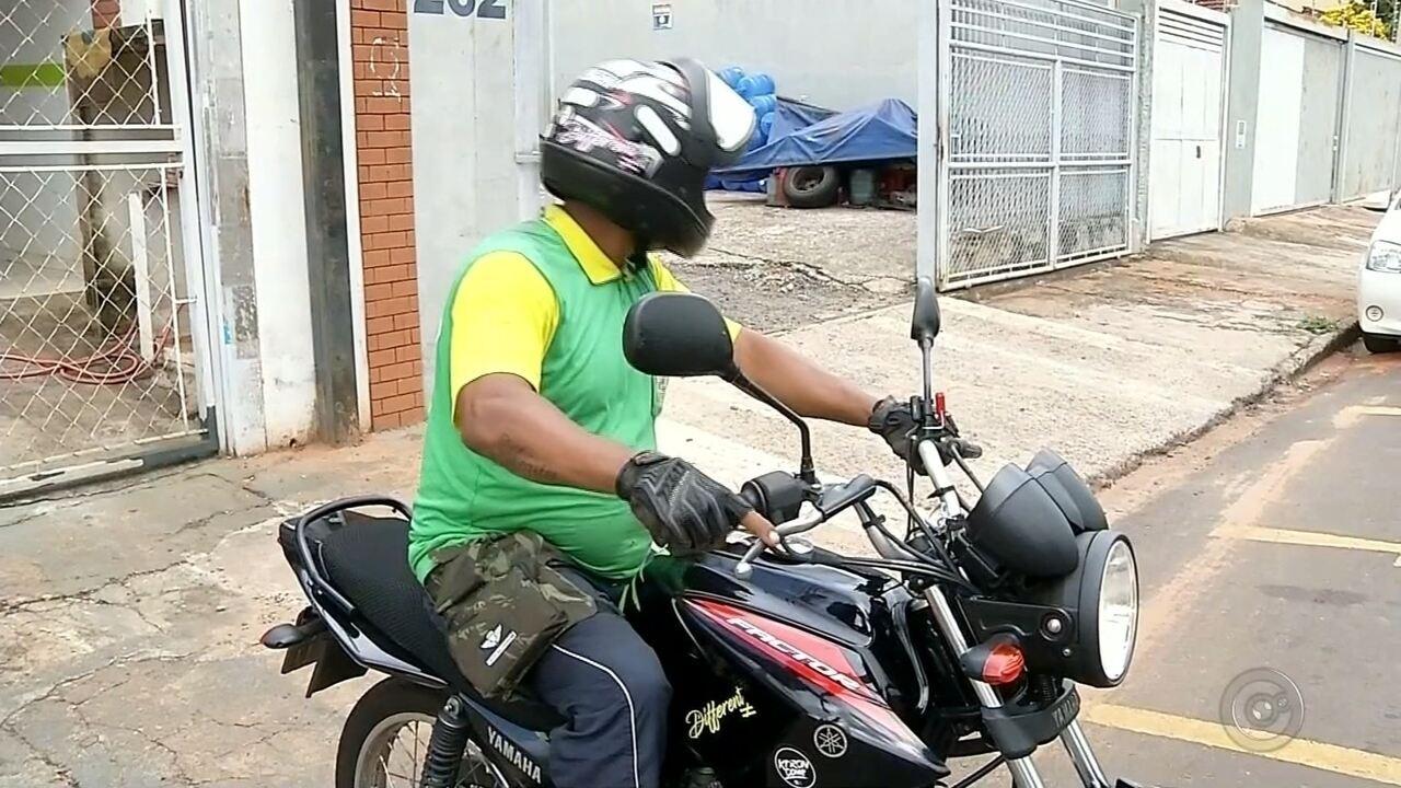 Curso obrigatório para regularizar profissão de mototaxistas está suspenso