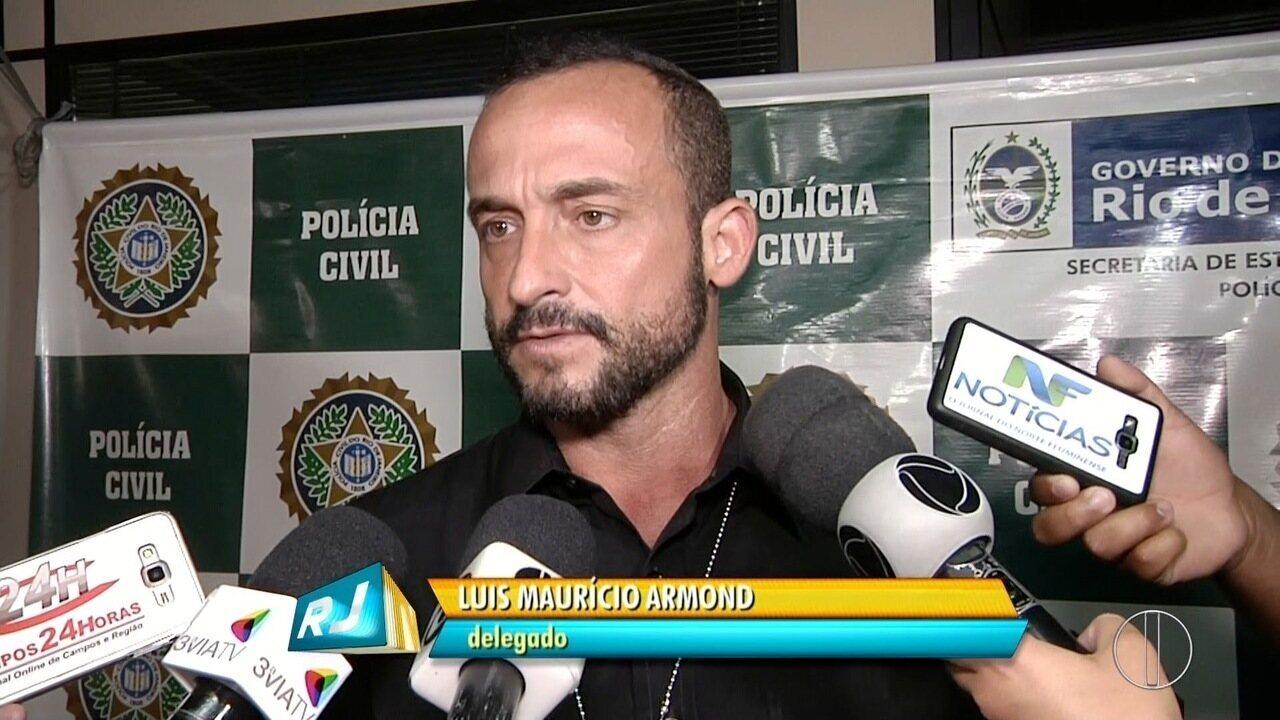 Policiais de Guarus, RJ, prendem homem suspeito de estupro e prostituição de menores