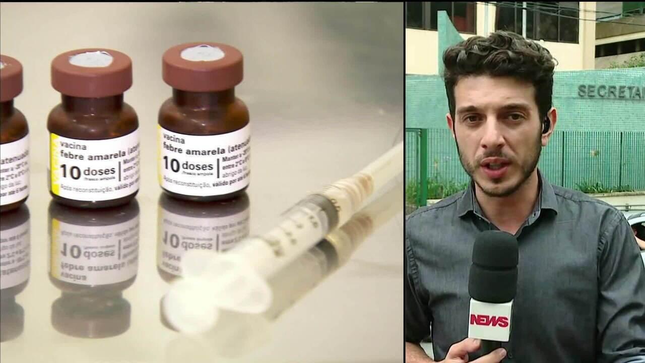Febre amarela: MP instaura inquérito para apurar falta de seringa para vacinação