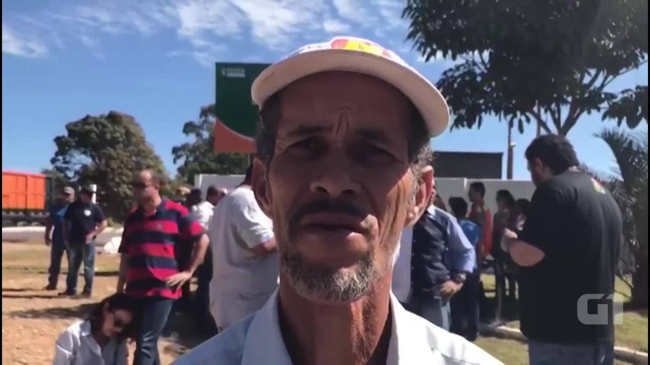 Ex-catador de lixo José de Souza diz que fechamento do Lixão da Estrutural será positivo