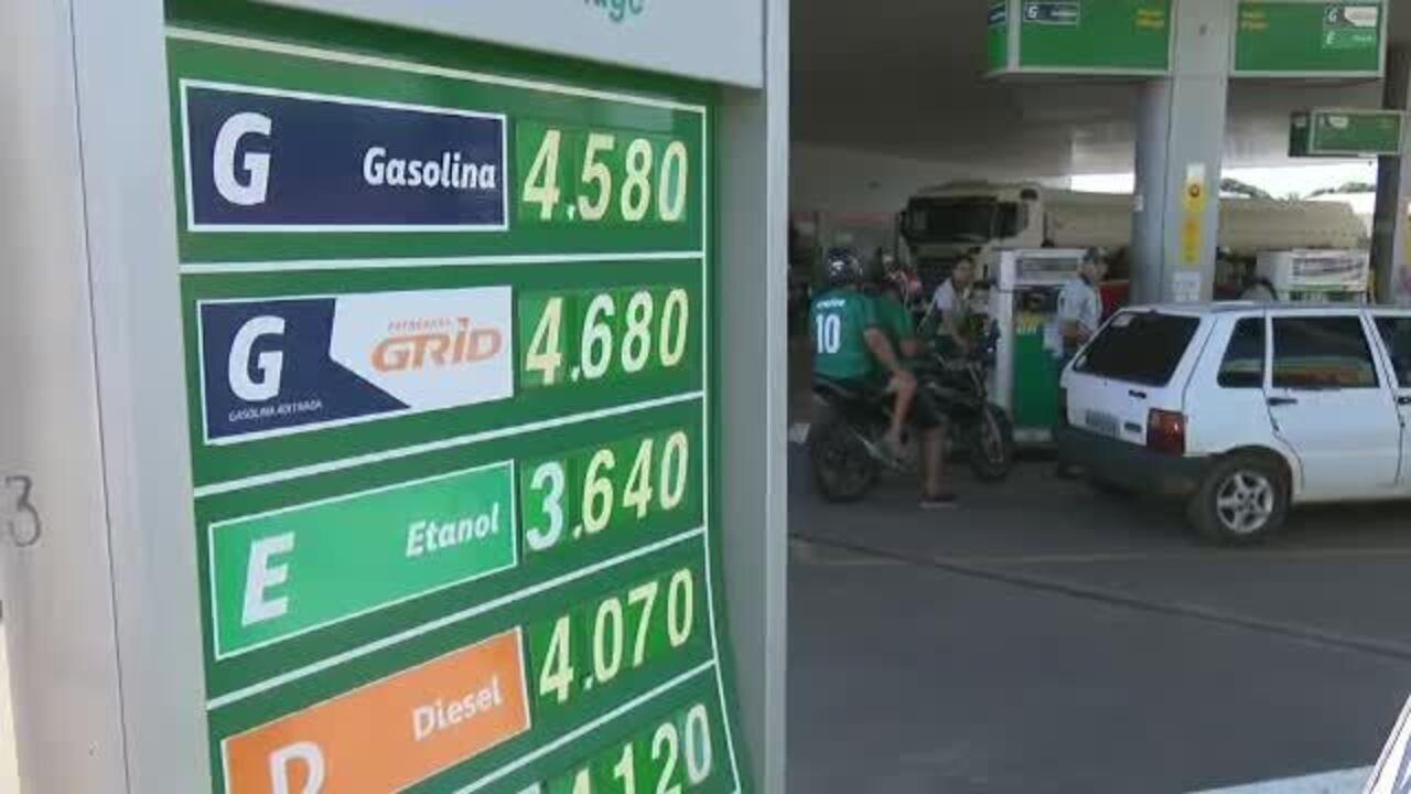 89e2ee5300 Preço da gasolina volta a subir e acreanos reclamam   difícil manter carro  e moto