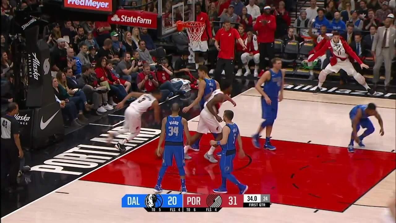 Melhores momentos de Dallas Mavericks 108 x 117 Portland Trail Blazers pela NBA