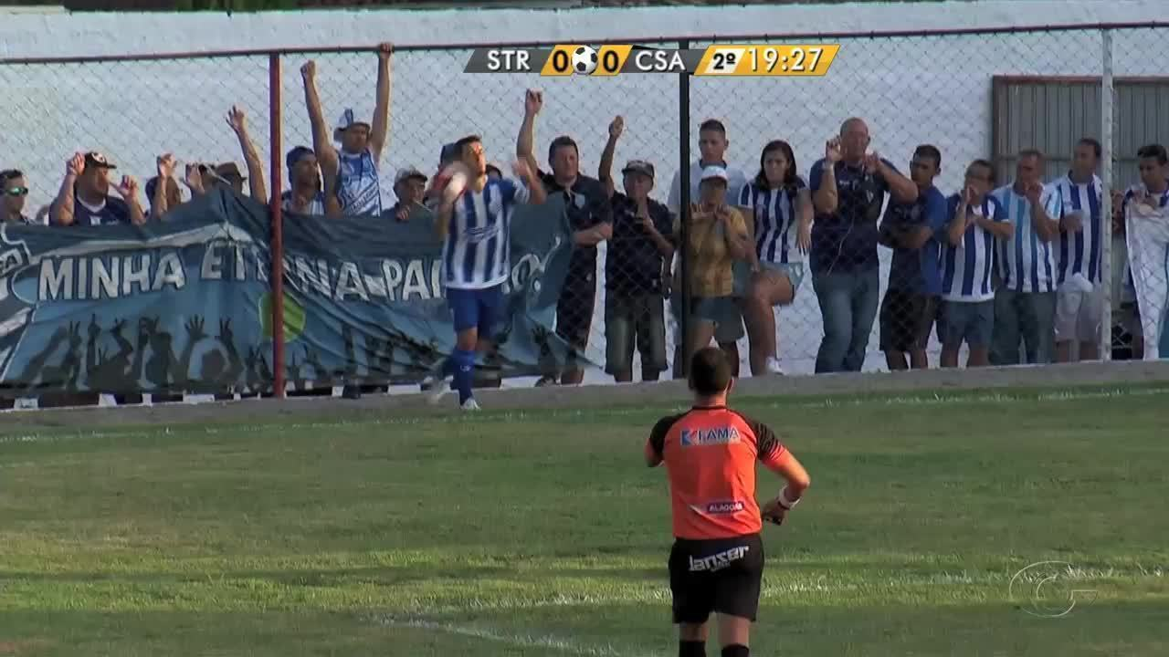 Veja os gols de Santa Rita 2 X 2 CSA