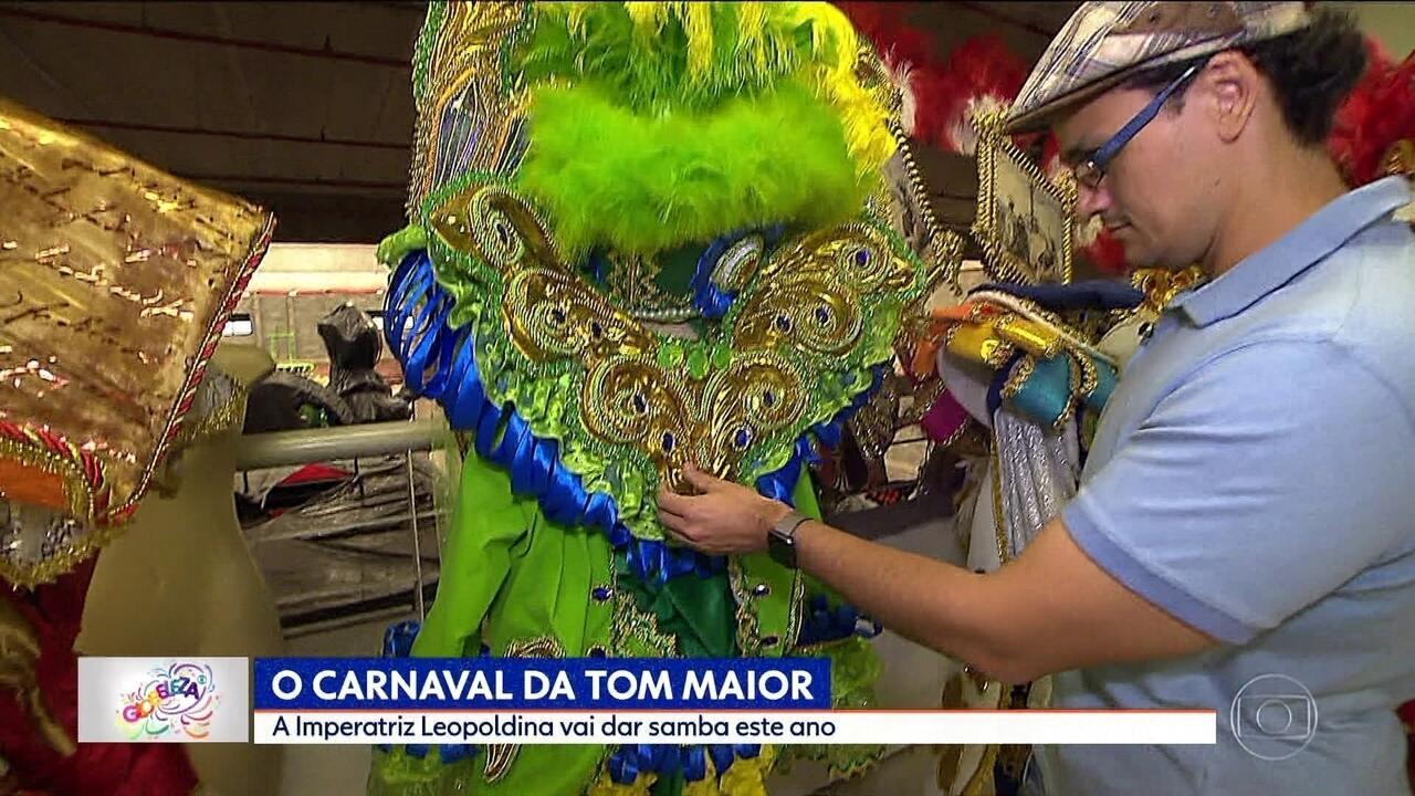 Tom Maior traz enredo sobre a Imperatriz Leopoldina para o Carnaval 2018
