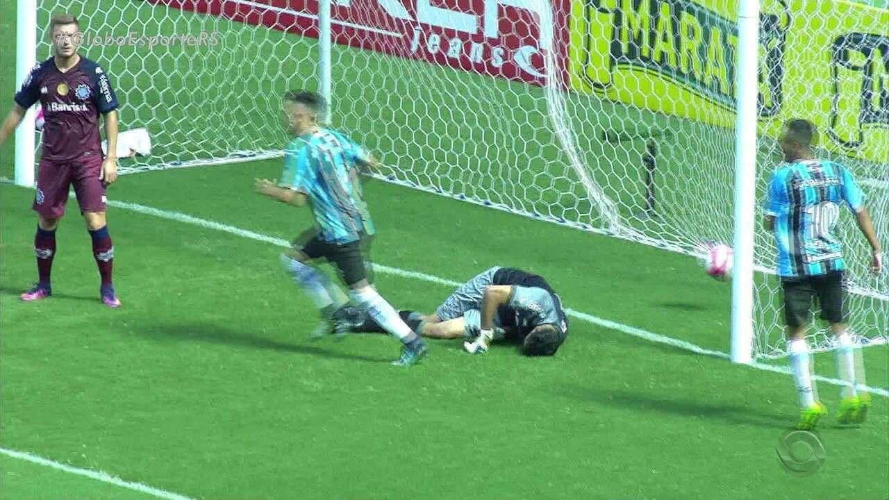 Veja como foi a vitória do Caxias sobre o Grêmio
