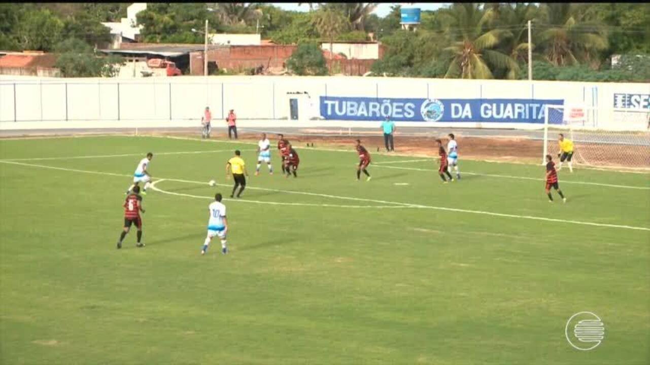 Parnahyba vence Flamengo-PI no litoral na estreia do estadual