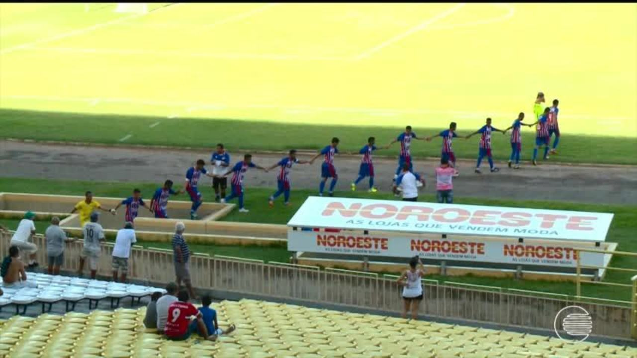 ASSISTA: River-PI vence 4 de julho em rodada dupla no Albertão