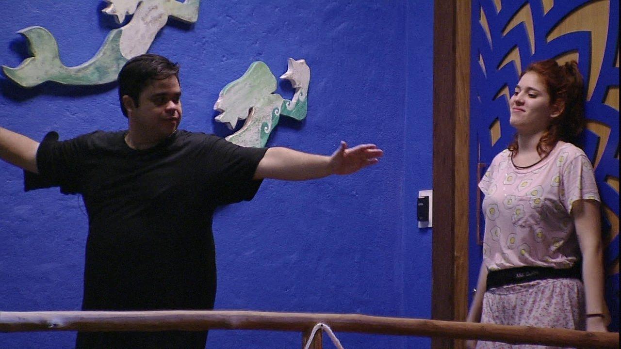 Jorge afirma para Ana Clara: 'Vou ser o último Líder do BBB'