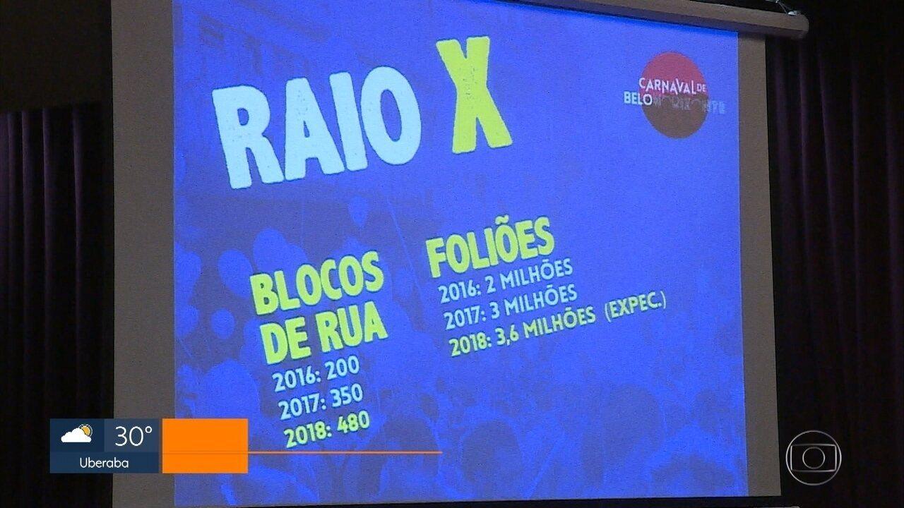 Carnaval de Belo Horizonte deve reunir 3,6 milhões de foliões neste ano