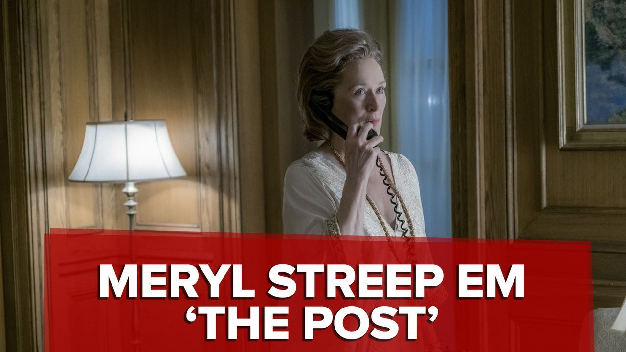 Filme sobre imprensa, 'The Post' tem timing perfeito para estreia