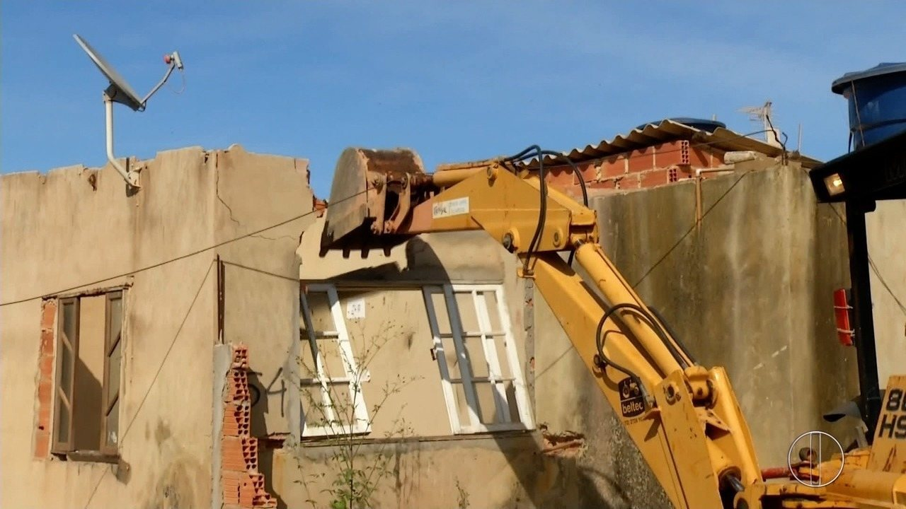 Trinta e seis casas foram demolidas no bairro Lagomar