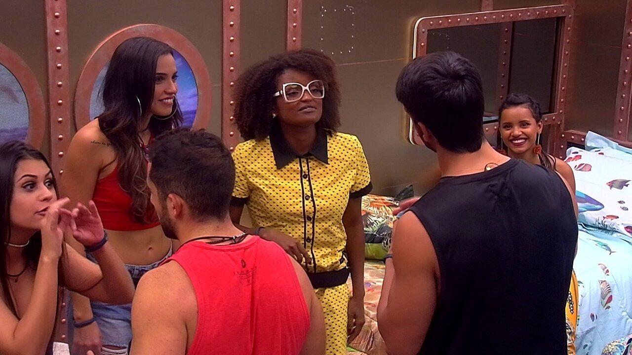 Ana Paula convoca brothers para decidirem a cama de cada um