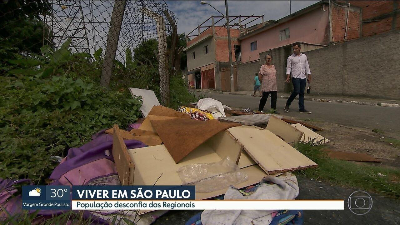 Paulistano não confia nas Regionais mostra pesquisa da Rede Nossa São Paulo