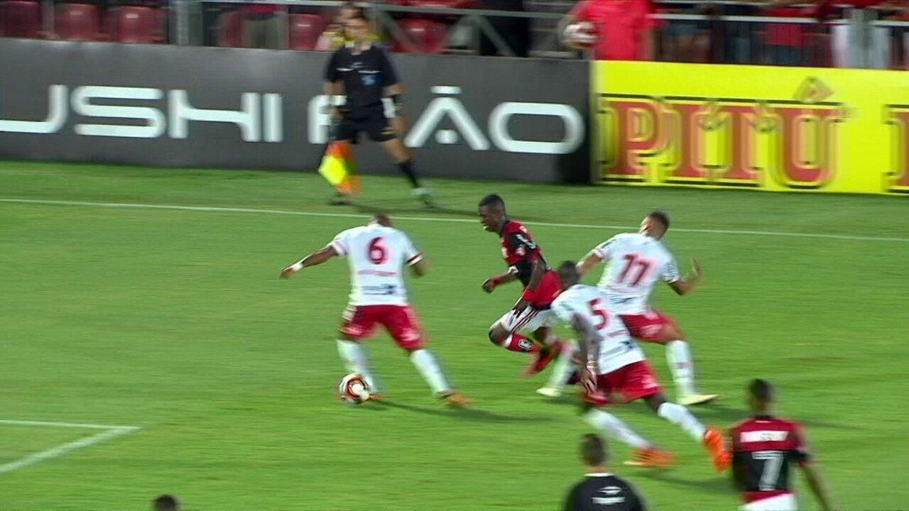 Melhores momentos: Flamengo 1 x 0 Bangu pela 3ª rodada da Taça Guanabara do Carioca