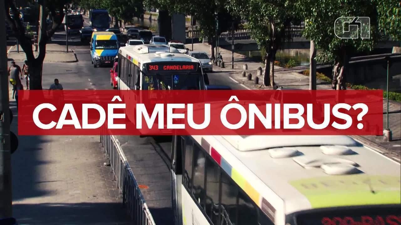 Fora do Ponto: Prefeitura do Rio não sabe quantos ônibus rodam na cidade