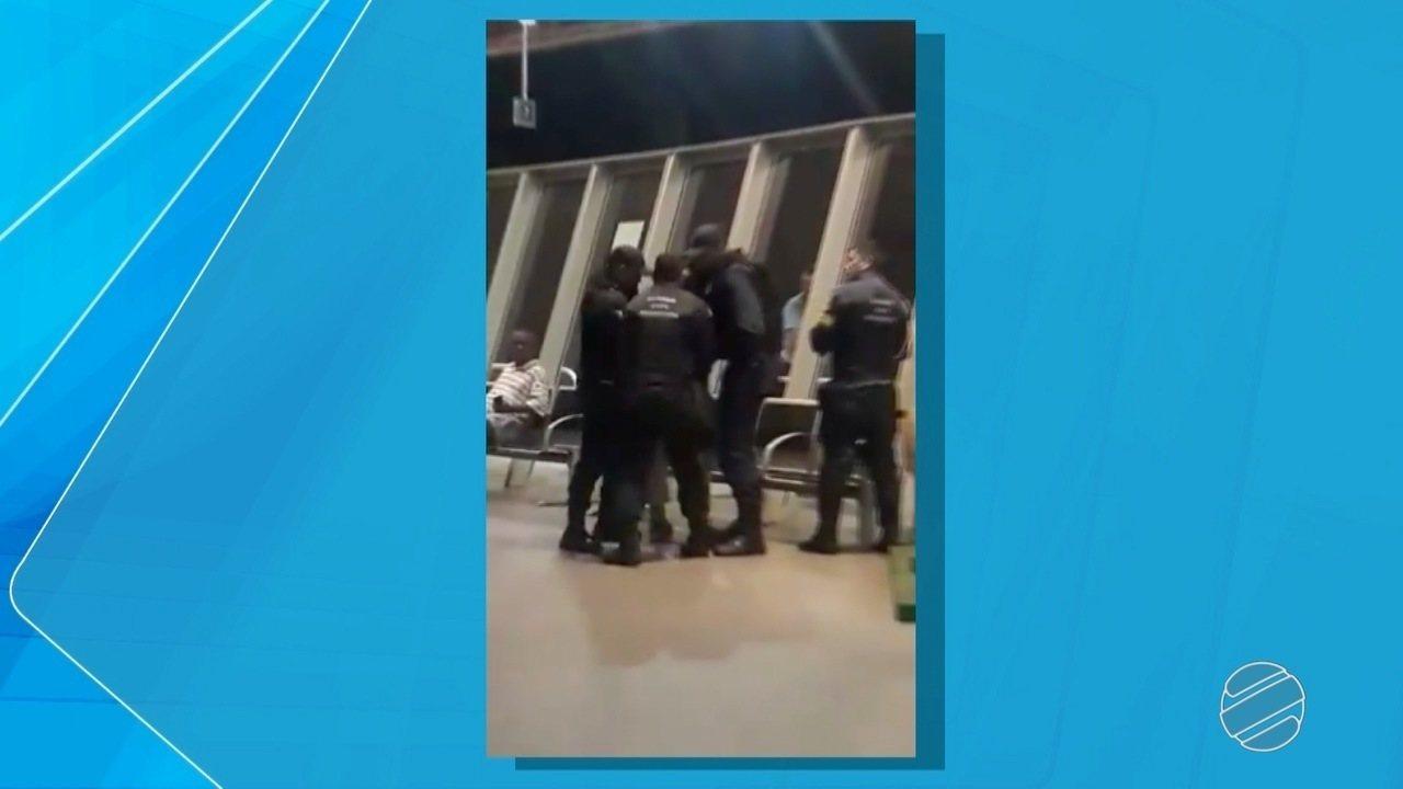 Homem é preso após desacatar ordem da Guarda Municipal e resistir à abordagem em MS