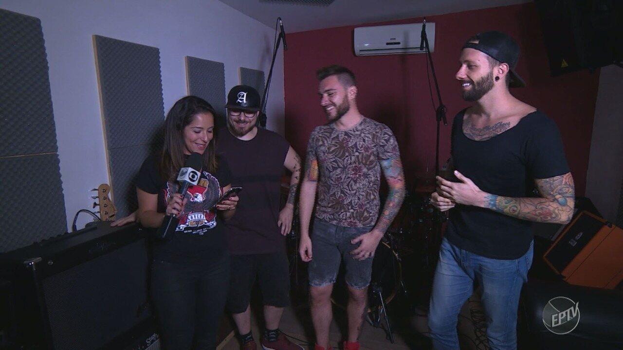 'Em cena': A banda Breaking Conspiracy transforma hit pop em heavy metal