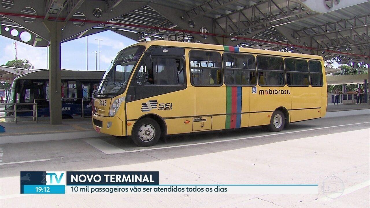 Passageiros começam a utilizar o Terminal da III Perimetral, no Recife