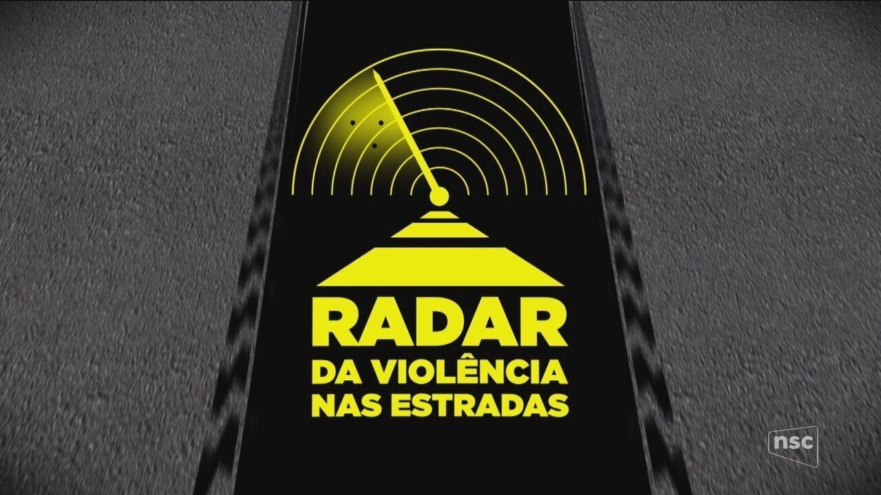 Radar da Violência nas Estradas: em 20 dias, 55 mortes são registradas em rodovias de SC