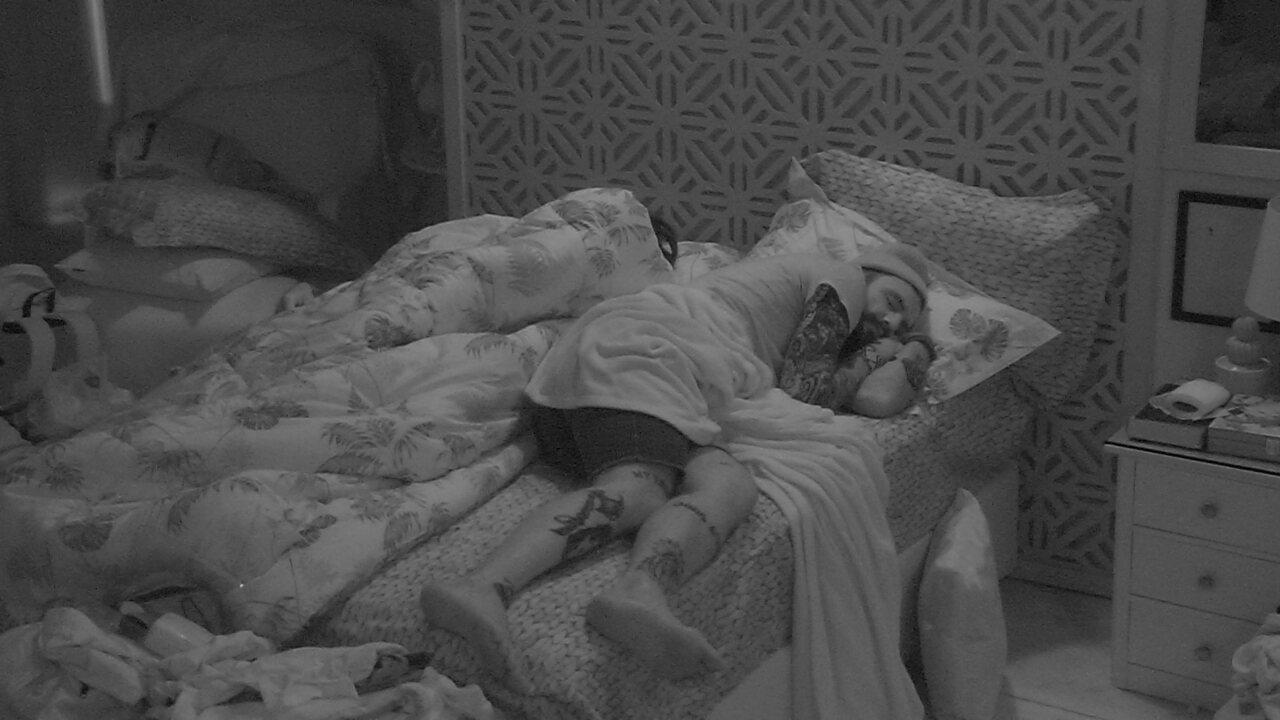 Todos dormem na casa do BBB