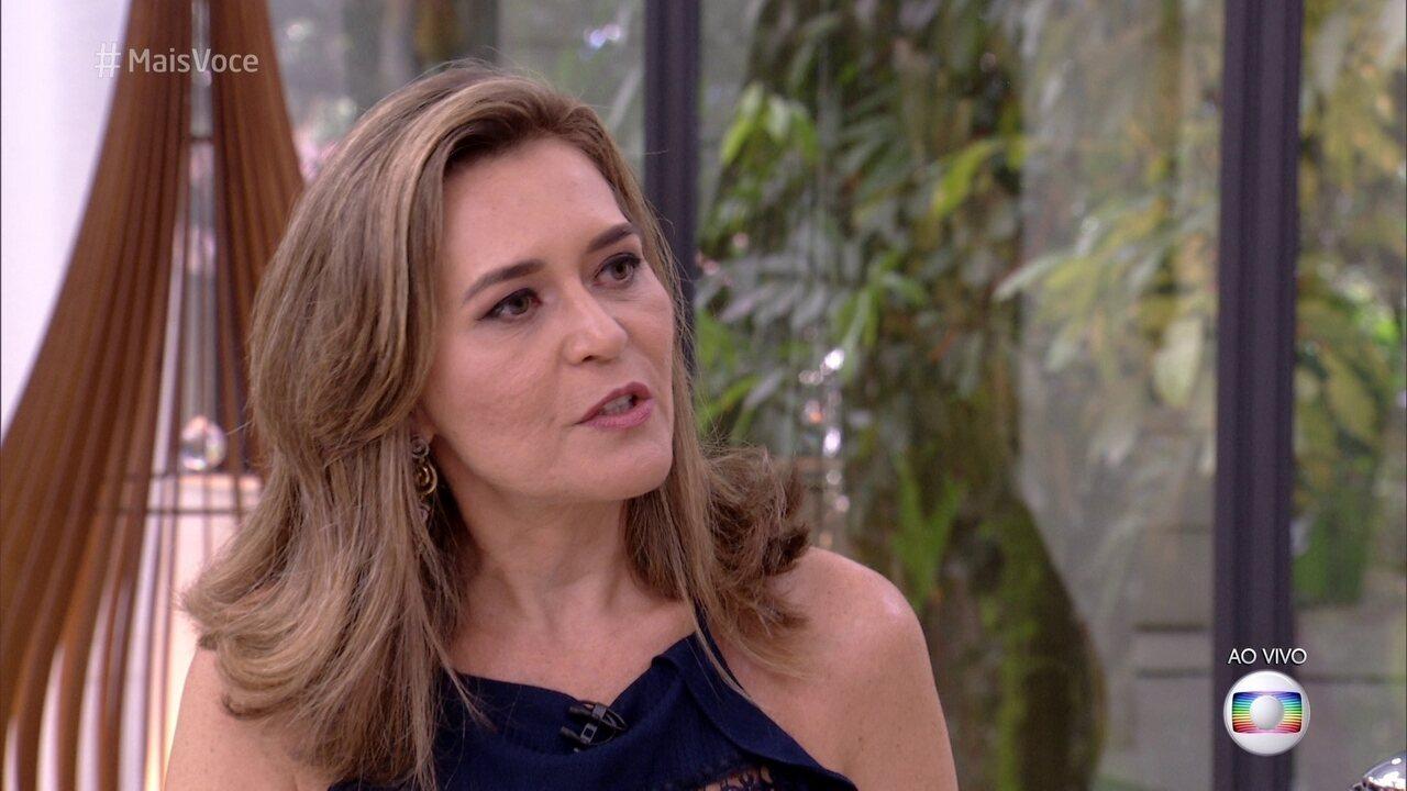 Família Lima no Mais Você: Eva fala sobre relação de pai e filha