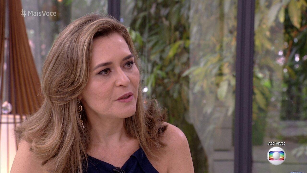 Família Lima no Mais Você: Eva fala do jeito brincalhão de Ayrton