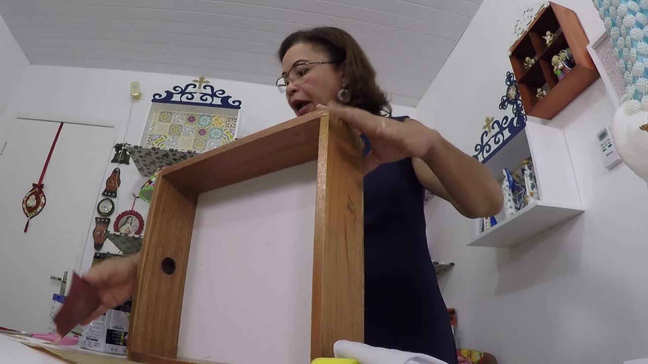 Saiba o passo a passo de como reaproveitar uma gaveta de madeira