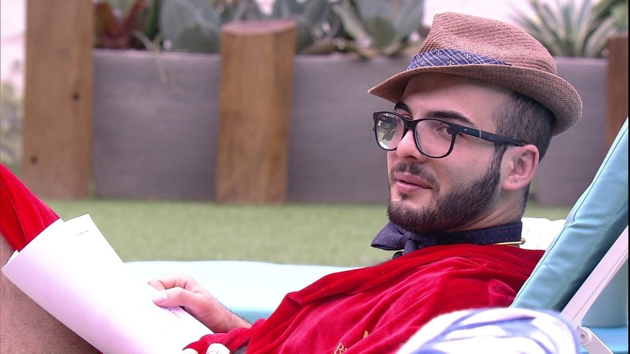 Mahmoud sobre Kaysar: ´Ele não tem malícia, mas eu tenho´