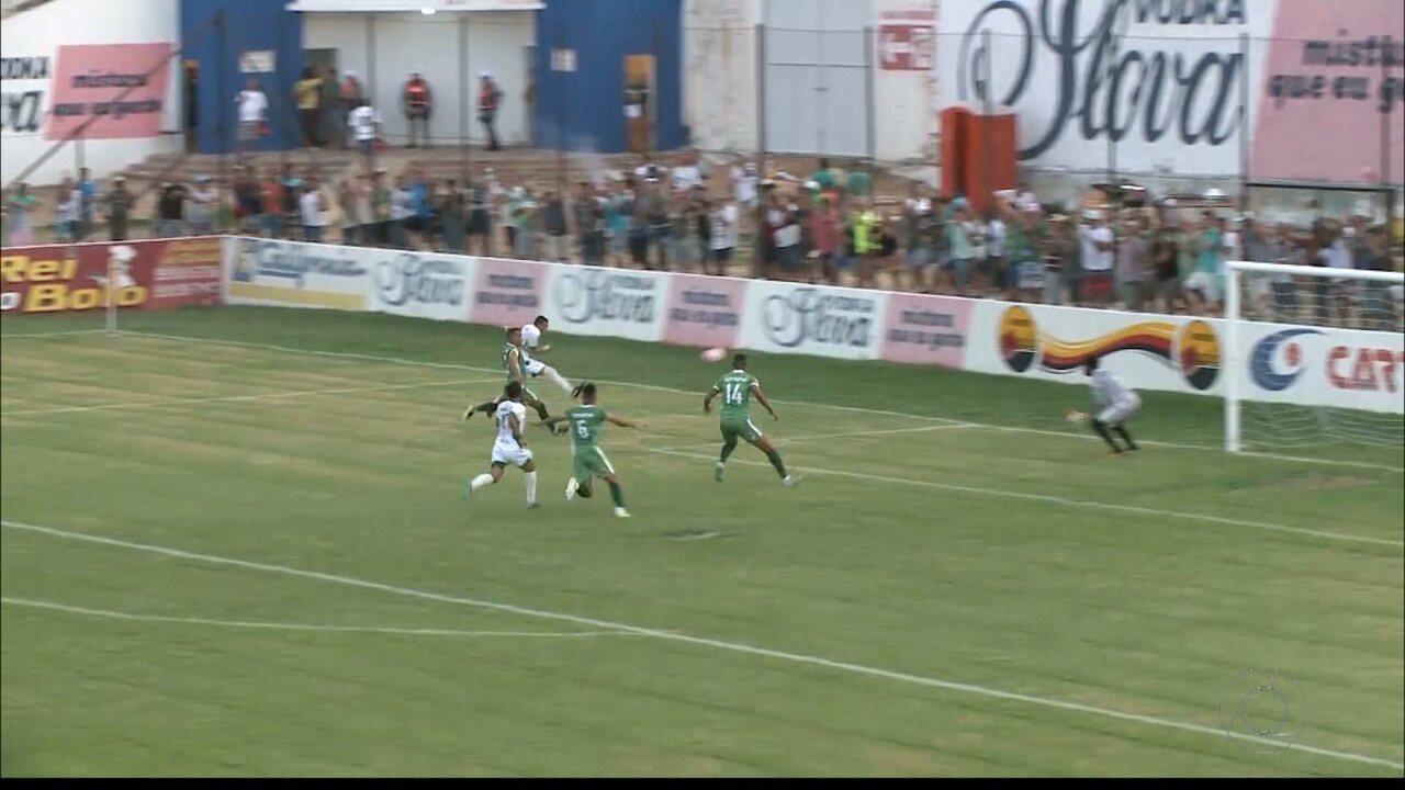 Serrano-PB tem dois gols anulados contra o Nacional de Patos