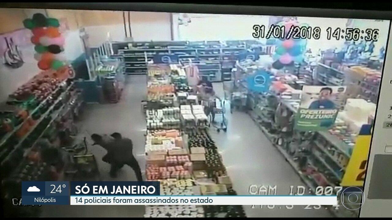 Policial civil é morto dentro de supermercado na zona norte do Rio