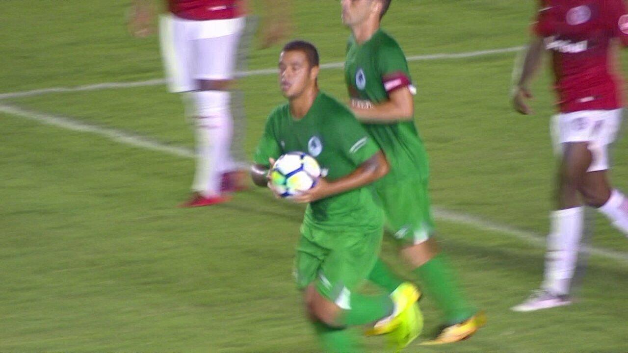 Confira o gol de Renan Donizete contra o Internacional