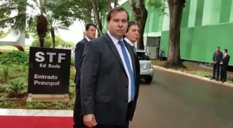 Rodrigo Maia disse que não vê pressão política sobre o Judiciário