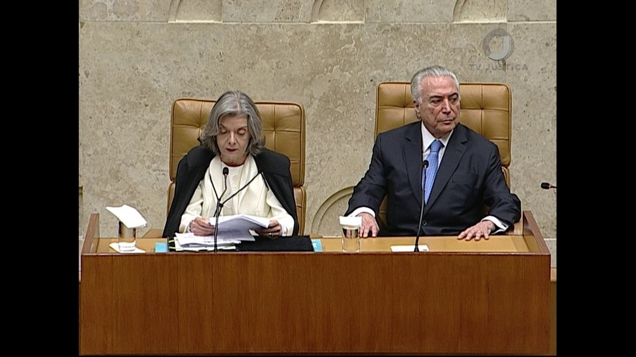 Veja a íntegra do discurso de Cármen Lúcia na cerimônia de abertura do ano judiciário