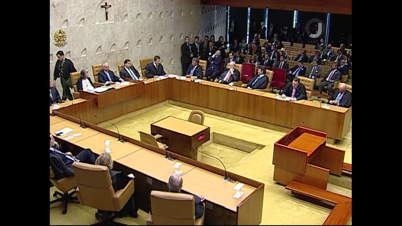 Ministros elogiam discurso da presidente do STF