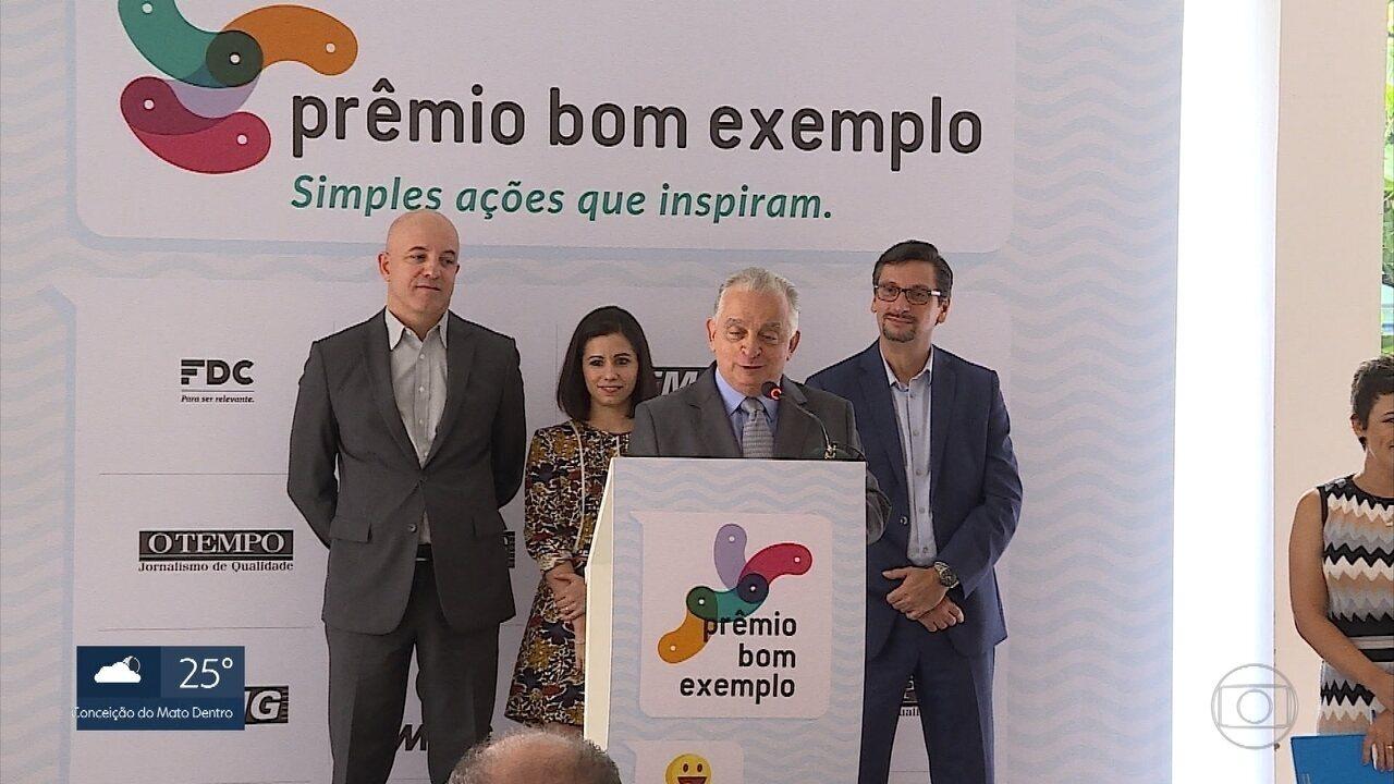 Nona edição do Prêmio Bom Exemplo é lançada em Belo Horizonte