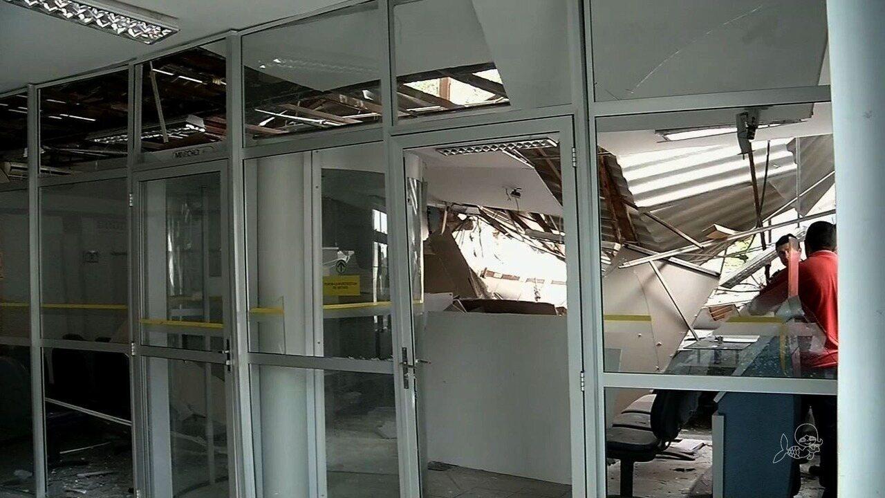 Bando explode dois bancos em Uruoca, no Ceará