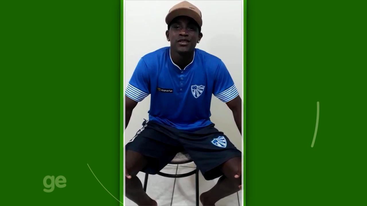 Juninho Bolt, do Cruzeiro-RS, explica origem do apelido