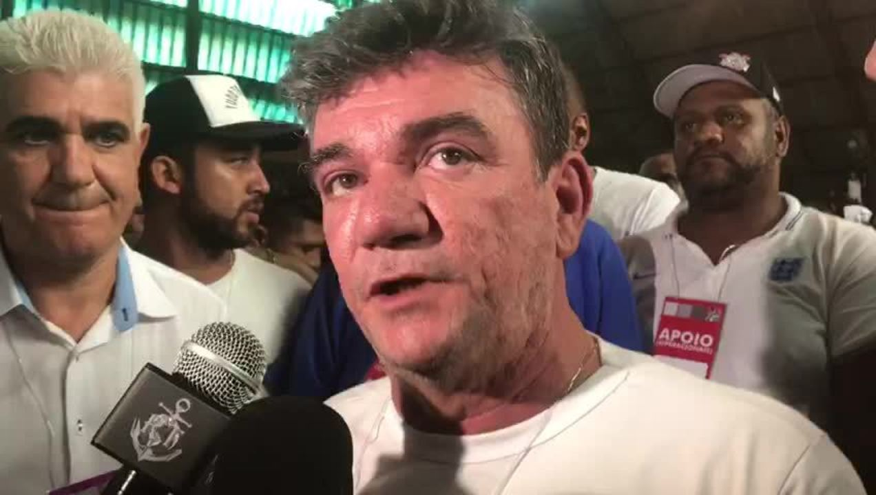 Andrés Sanchez fala após ser eleito presidente do Corinthians