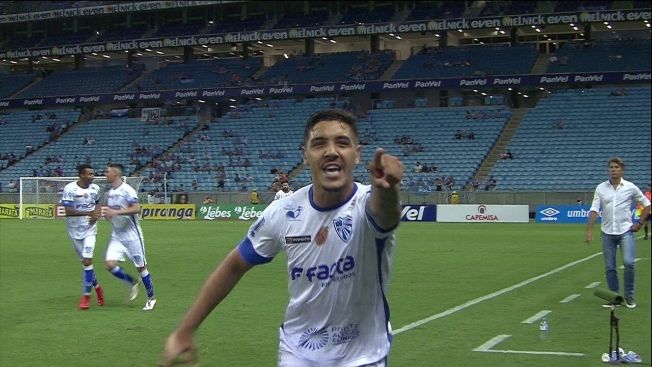 Os melhores momentos de Grêmio 0 x 1 Cruzeiro-RS pelo Campeonato Gaúcho
