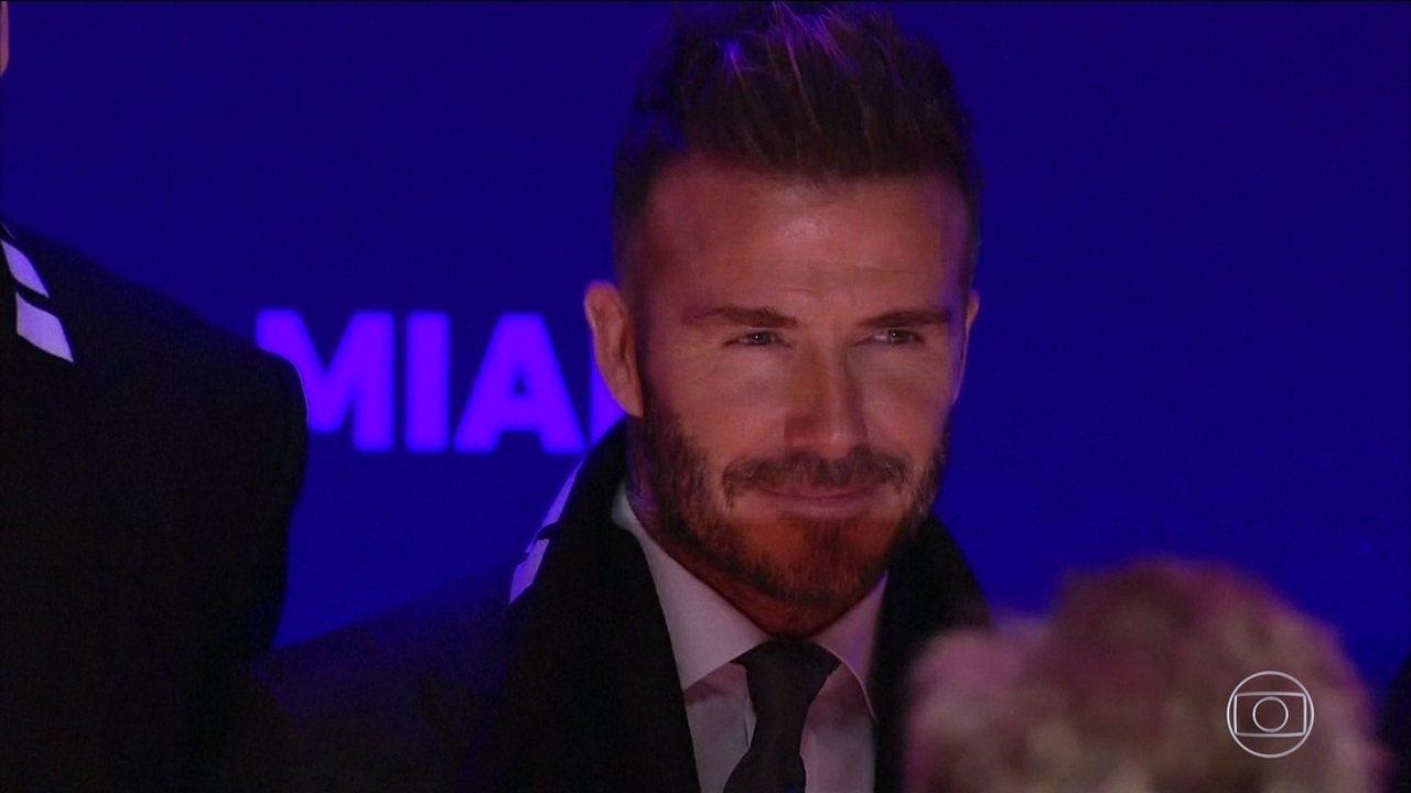 David Beckham lança projeto para colocar um clube de futebol na Major League Soccer