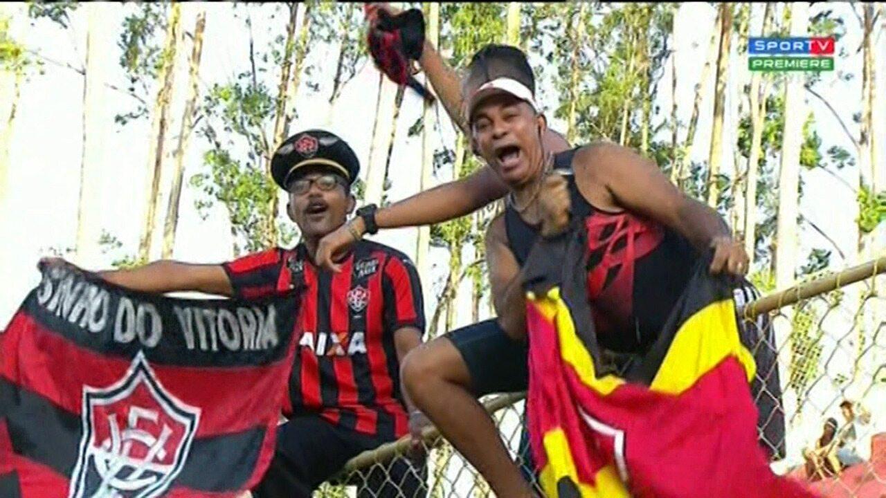 Confira os melhores momentos de Vitória 3 x 0 Bahia de Feira