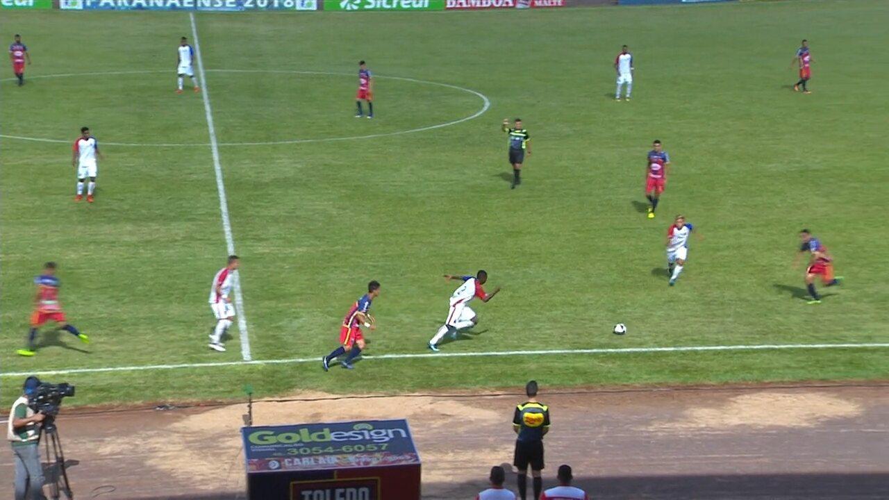 Confira os melhores momentos de Toledo 0 x 0 Paraná pela quarta rodada do Paranaense