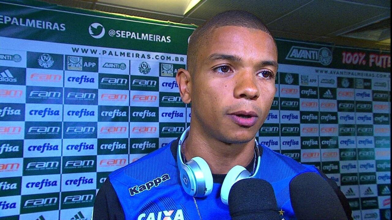 David Braz, zagueiro do Santos: