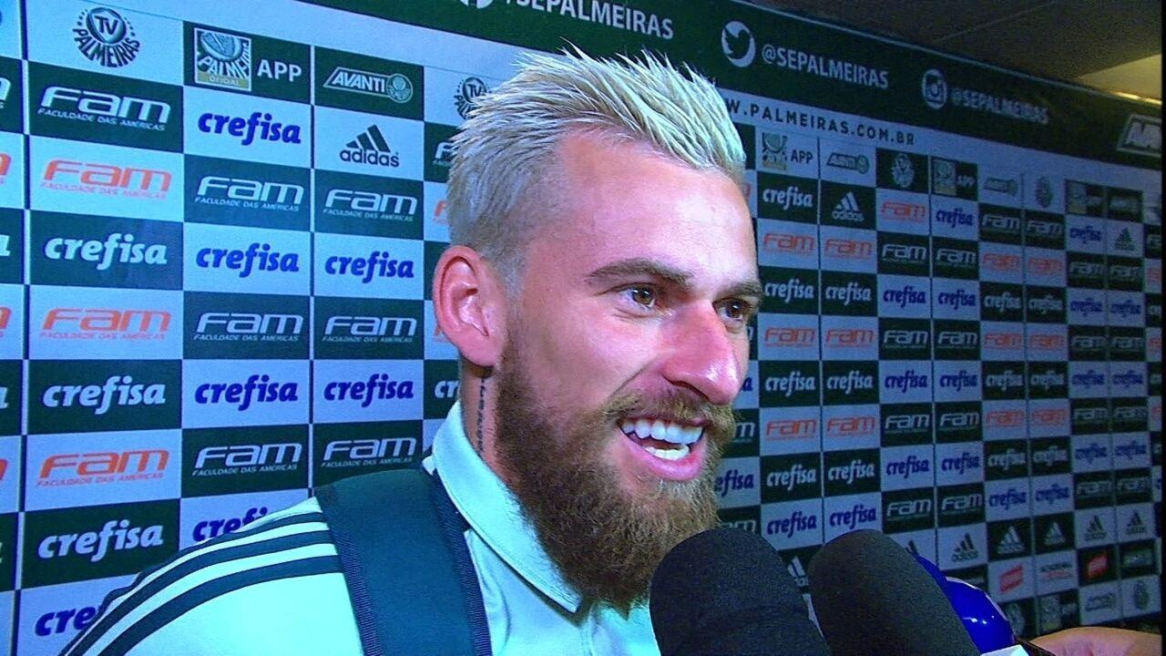 Lucas Lima, meia do Palmeiras: